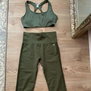 Forever 21 Matching Active Wear Set